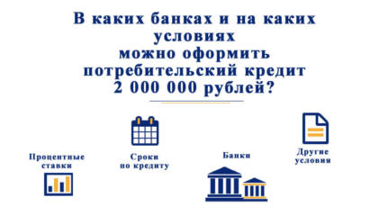 Потребительский кредит 2000000