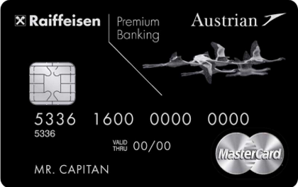 Кредитная карта Райффайзен Банка Austrian Airlines